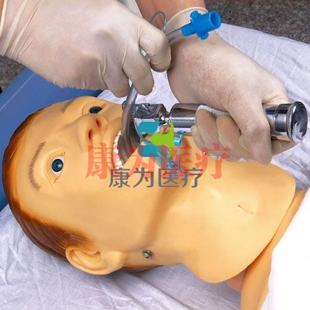 """""""康为医疗""""高级鼻饲管与气管护理模型,鼻饲管与气管护理模型H70-1"""